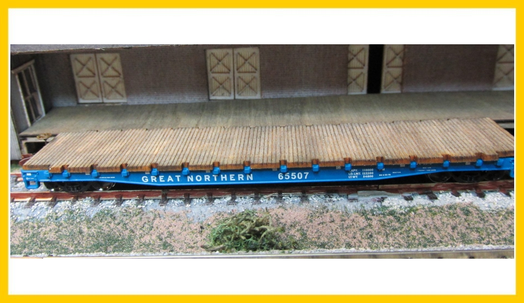 3603 Wheels Of Time 53-6 ft Flat Car Deck
