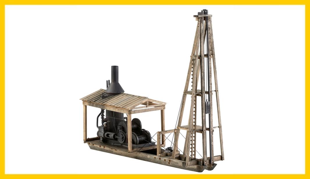 KMP-O-PD Steam Pile Driver