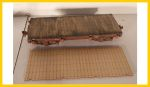 1600 On30 Bachmann 18' Flat Car Conversion Deck Kit