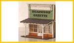 2136 LG's Billiards / Deadwood Gazette Facade