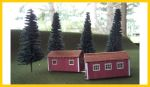 3020 Logging Skid Shacks (2 per kit)