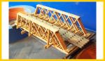 3028 Wood Truss Rod Bridge (55' Span)