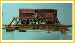 4028 Wood Truss Rod Bridge (55' Span)