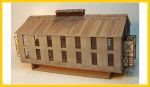 4034 Two Stall Engine House/Car Repair Building