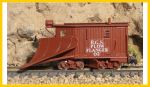 ASP-30051-RTR N Scale R.G.S. Plow Flanger No 2  Nn3 Brass