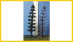 C-300-100 Conifer Armatures 3.0 Inches Tall