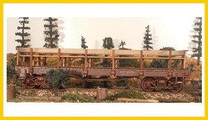1621 On30 Bachmann Crew Car Conversion Kit