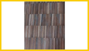 3762 Corrugated Metal Sheets - Brown