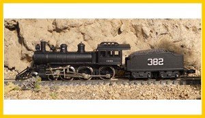 ASP-30048-RTR Illinois Central 4-6-0 Casey Jones N Brass