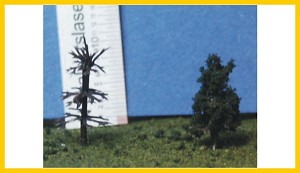 C-100 Conifer Armatures 1.0 Inches Tall